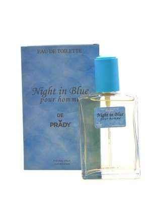 NIGHT IN BLUE pour homme - Eau de toilette générique