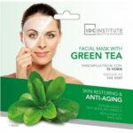 masque facial au thé vert anti age et repare