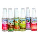 Solution hydroalcoolique en spray 6 parfums différents