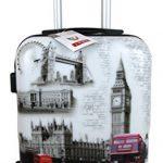 Valise bagage cabine – Londres noir et blanc